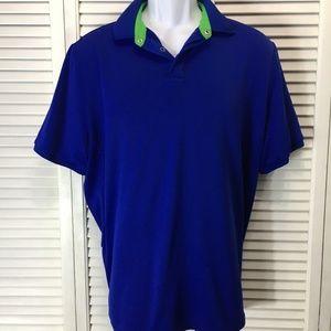 Ralph Lauren RLX Shirts - Ralph Lauren RLX Large blue airflow golf shirt
